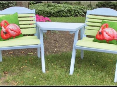 Garden Bench Makeover ~Garbage to Gorgeous™  Episode #18 ~ Craft Klatch