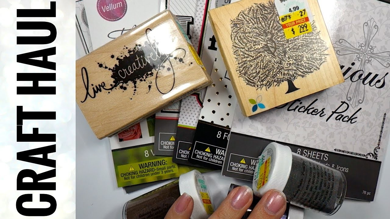 Hobby lobby haul cheap craft supplies my crafts and for Craft and hobby supplies