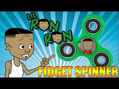 HOW TO: LIL RON RON FIDGET SPINNER - DIY