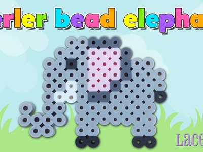 How To Make A Cute Perler Bead Elephant