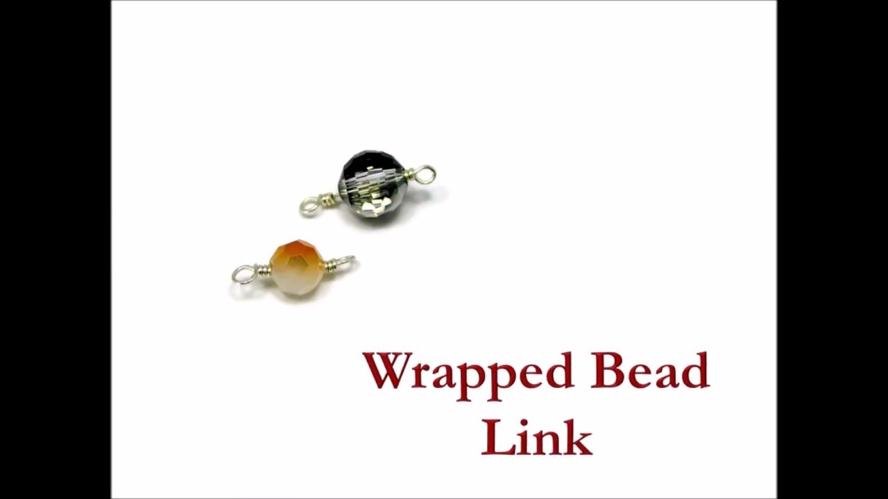 How To Make A Wire Wrapped Bead Link Diy Wire Wrapped