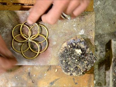 Jewelry tutorial :Simple flower of life