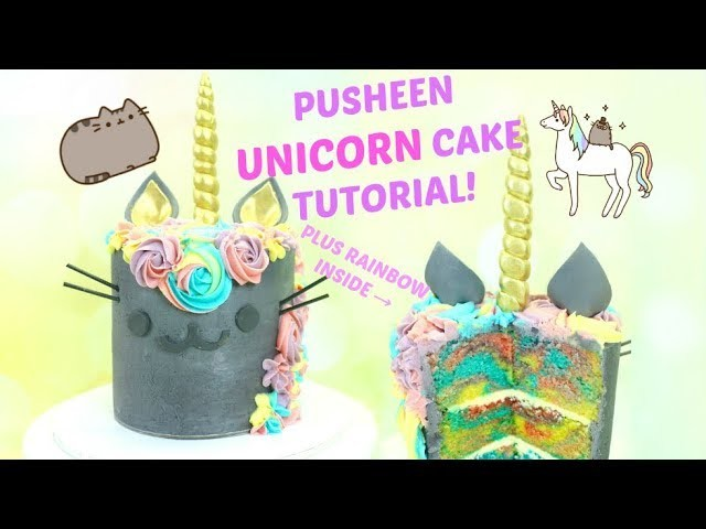 how to make a pusheen cake