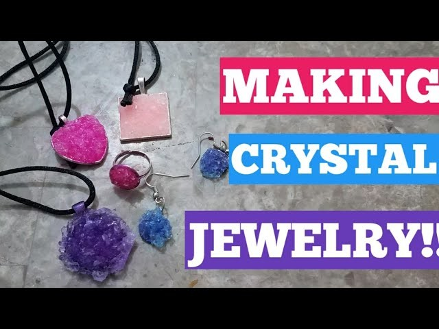 Making Crystal Jewelry My Crafts And Diy Projects
