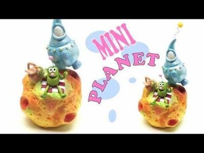 Mini Planet- Polymer clay tutorial- Fimo