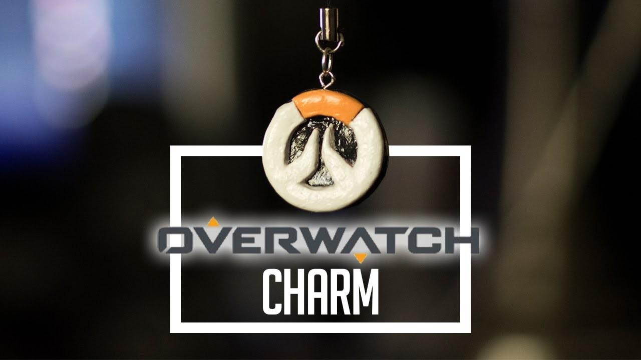 Overwatch Logo   Polymer Clay Charm Tutorial