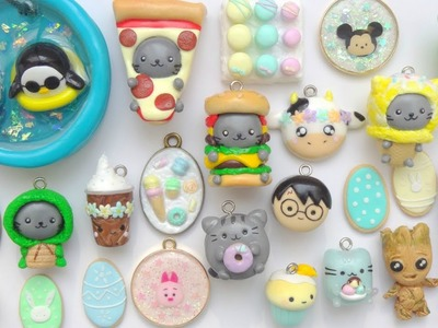 Polymer Clay Charm Update #4 - Collection Fimo