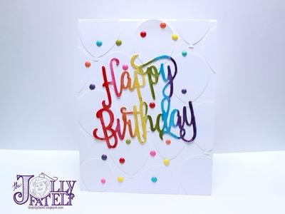 Rainbow Birthday Card!