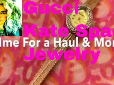 RIDE Along & Thrift HAUL Gucci Kate Spade Mid Century Decor Jewelry It Sells On Ebay & Poshmark