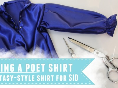 Sewing a fantasy-style poet shirt for Iplehouse SID
