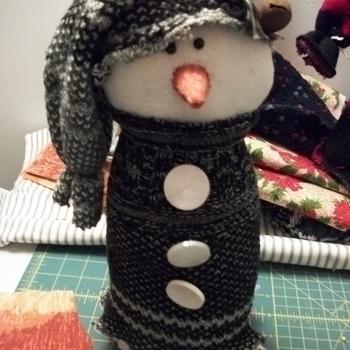 """Snowman 13"""" tall"""