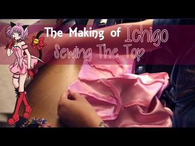 The Making of Ichigo-Tokyo Mew Mew | Sewing The Shirt