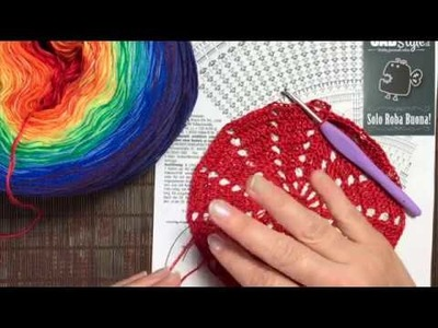 Tutorial Uncinetto Mandala 2a parte by Uabstyle