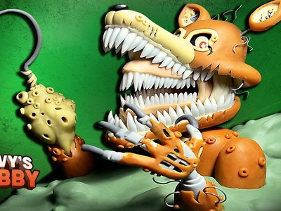 TWISTED FOXY TUTORIAL ➤ FNAF: THE TWISTED ONES ✔ Polymer clay ★ Cold porcelain ✔ Giovy Hobby