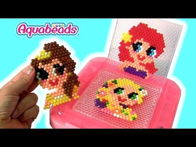 AquaBeads Disney Princess Ariel Belle Rapunzel Water Beads Toys for Girls by FUNTOYS