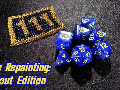 Dice Repainting: Fallout Edition - DIY with Cly Ep. 9