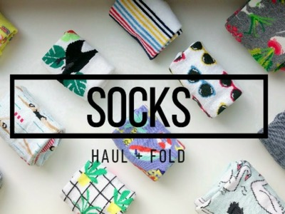 DIY | Best Way to Fold and Organize Socks - Target Haul