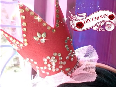 DIY CROWN USING FOAM SHEET  || BIRTHDAY GIFT IDEA FOR BEST FRIEND-SISTER || HEAD BAND FOR BABY GIRL