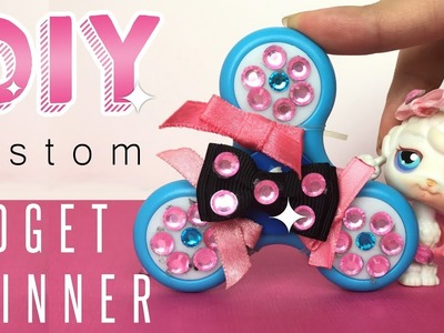 DIY Custom Fidget Spinner! - With Becky