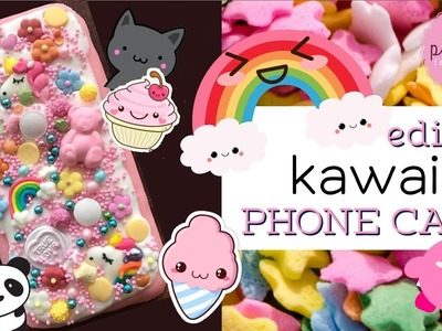 DIY! EDIBLE kawaii Phone Case | Pink Pie Factory | Lara-Marie |Crazy! EAT your MOBILE PHONE