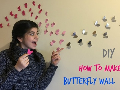 DIY How to make butterfly walls | Arbella Korko