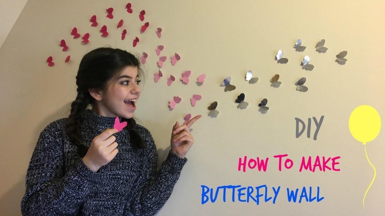 DIY How to make butterfly walls | Arbella Korko