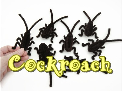 DIY Pipe Cleaner How To - Cockroach