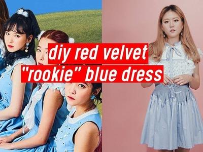"DIY Red Velvet ""Rookie"" Blue Lace Dress | DIY K-POP Closet #6"