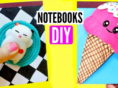 DIY SCHOOL SUPPLIES for Back to School 2017 | NOTEBOOKS Easy & Cute
