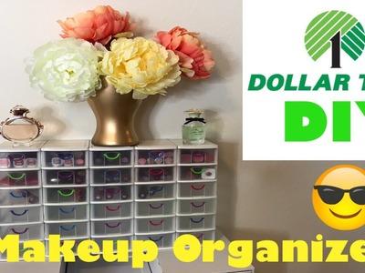 Dollar Tree DIY Makeup Organizer with Drawers! | DIY | Kaleena Berg