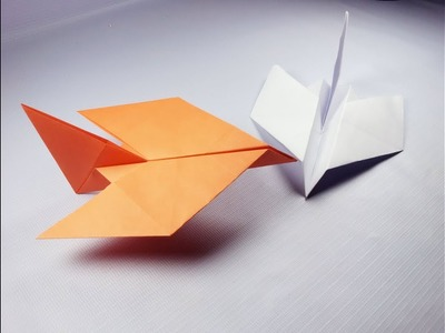 how to make a bird paper airplane