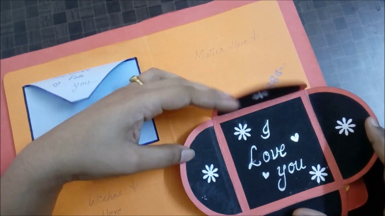 Handmade cards ideas for lovers