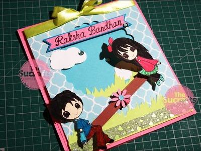 Handmade Rakhi Card 2| The Sucrafts
