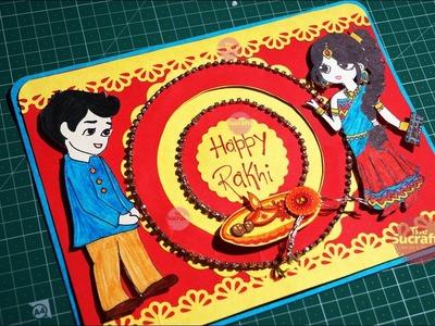 Handmade Rakhi Card | The Sucrafts
