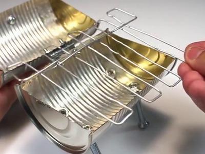 How to Make a Homemade mini barbecue  DIY