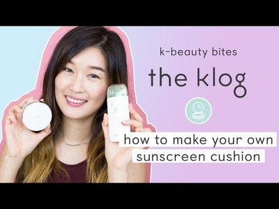 How to Make Your Own DIY Sunscreen Cushion