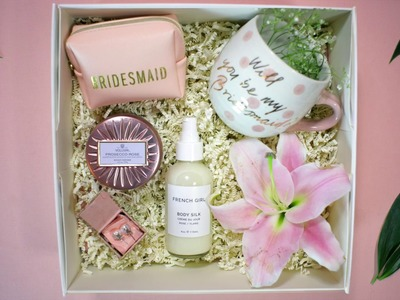 How To: Will You Be My Bridesmaid Box DIY | Classic