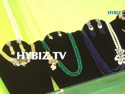 Latest Ruby Beads Necklace | Huge Jumkas | Pearl Haram | Diamond Jhumka,