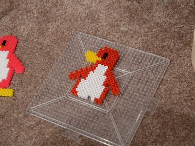 Making a Pixel Penguin with Perler Beads