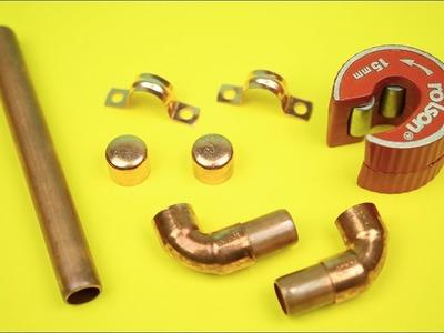 National Upcycling Week - DiY Blonde - DIY Copper Pipe Hook