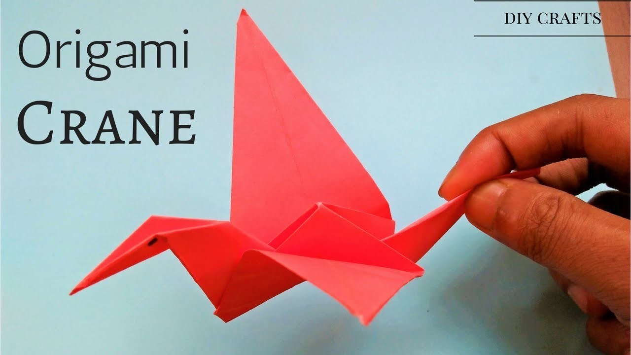 origami origami crane tutorial easy simple step by