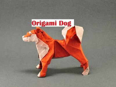 Origami Paper Dog। How To Make an Origami Paper Dog For Kids। how to make an easy origami dog ।origa