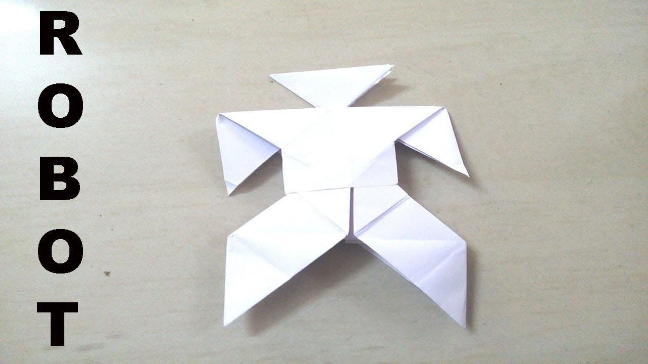 Original origami robot power ranger origami robot transformer original origami robot power ranger origami robot transformer how to make origami paper robot jeuxipadfo Images
