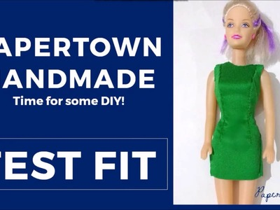 PaperTown DIY | How to make a Test Fit from a Pattern Tutorial
