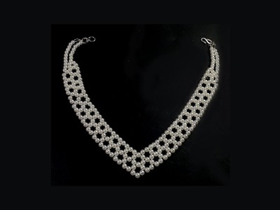 Pearl Necklace Multi Layer Fashion Jewellery DIY