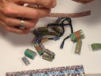 The Rolling Beads Venezia Millefiori Texture and patterns