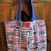 Air Mail Market Bag