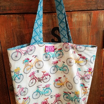 Bicycle market bag