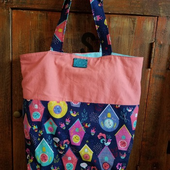 Birdhouse market bag
