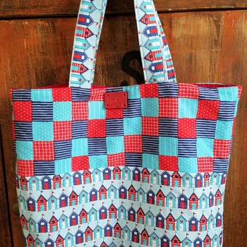 Birds houses market bag